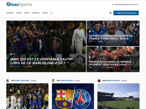 Media sportif collaboratif